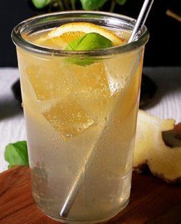 Ingwer-Birnen-Cocktail